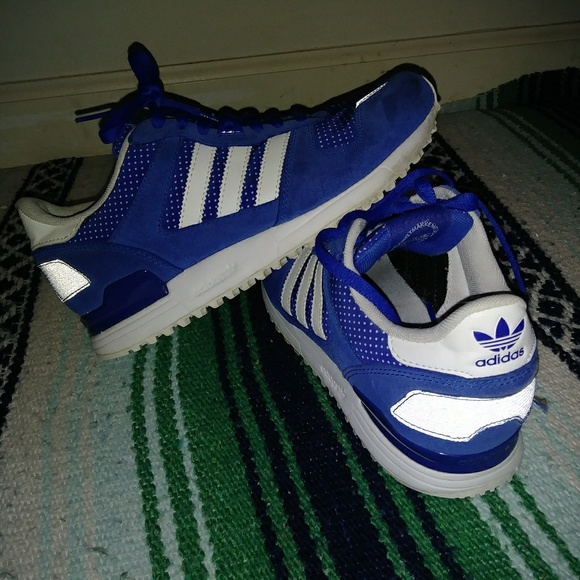 Adidas Blue Superstar Trainers Size 6!